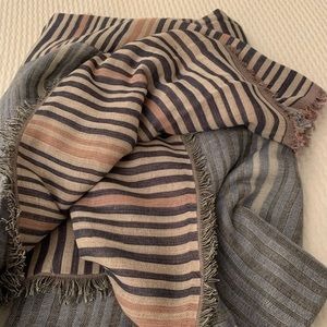 Wilfred multi color blanket scarf